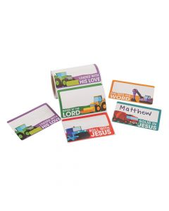 Construction VBS Name Tags/Labels