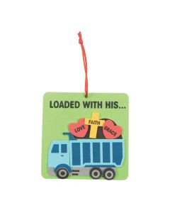 Construction VBS Ornament Craft Kit