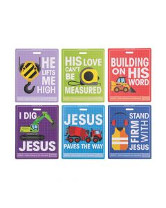 Construction VBS Photo Cards