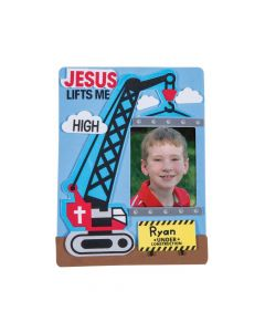 Construction VBS Picture Frame Magnet Craft Kit