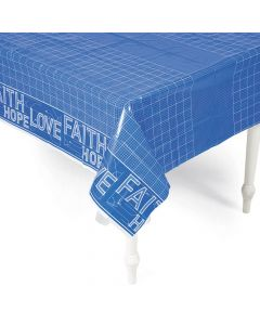 Construction VBS Plastic Tablecloth