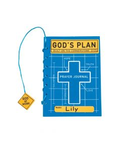 Construction VBS Prayer Journal Craft Kit