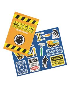 Construction VBS Sticker Books