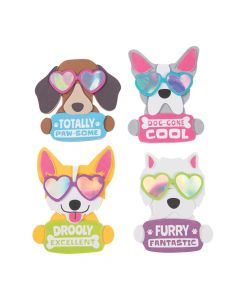 Cool Dog Valentine's Day Magnet Craft Kit