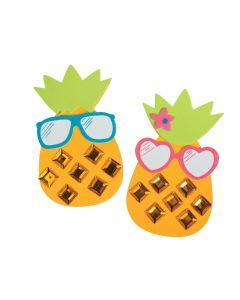 Cool Jewel Pineapple Magnet Craft Kit