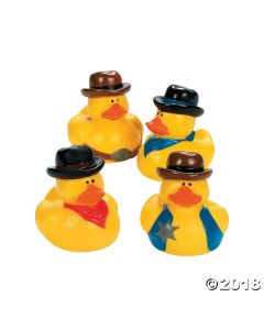 Cowboy Rubber Duckies