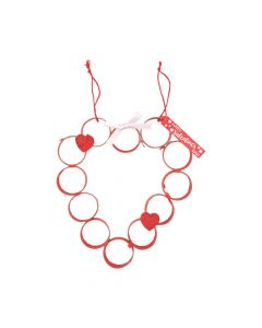 Craft Tube Valentine Wreath Craft Kit
