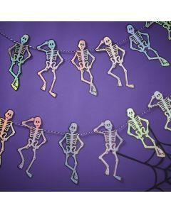 Creep It Real -  Skeleton Shaped Bunting