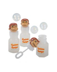Curious George Bubble Bottles