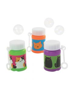 Cute Cat Mini Bubble Bottles