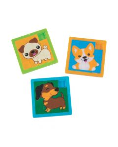 Cute Dog Slide Puzzles