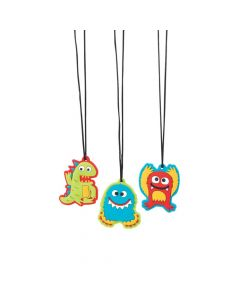 Cute Monster Charm Necklaces