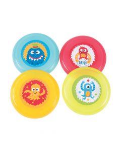 Cute Monster Mini Flying Discs
