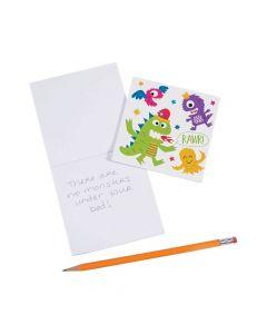 Cute Monster Notepads