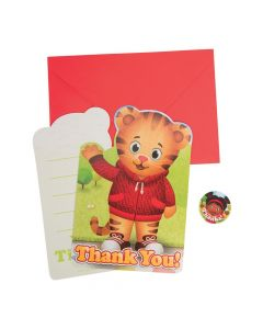 Daniel Tiger's Neighborhood Thank You Cards