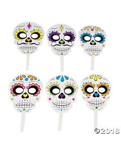 Day of the Dead Sugar Skulls Photo Booth Props