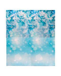Design-A-Room Snowflake Print Backdrop