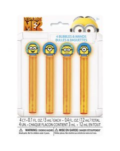 Despicable Me Minions Bubbles Wands