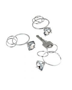 Diamond Ring Keychains