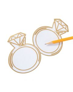 Diamond Ring Sticky Notes