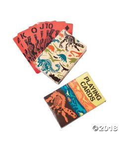Dino Dig Playing Cards