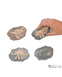 Dinosaur Fossil Stress Toys