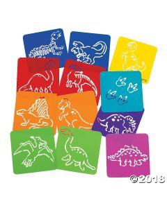 Dinosaur Stencils