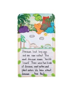 Dinosaur Writing Prompt Craft Kit