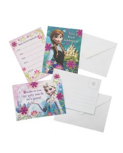Disney Frozen Invitations and Thank You Cards