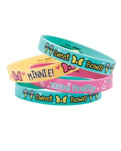 Disney Minnie's Happy Helpers Rubber Bracelets