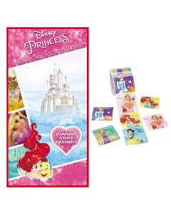 Disney Princess Valentines with Stickers and Scented Bookmarks