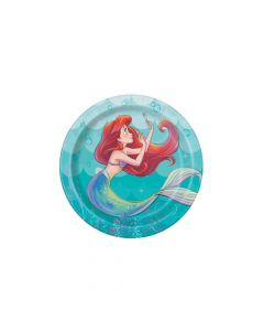 Disney The Little Mermaid Ariel Paper Dessert Plates