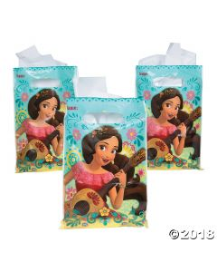 Disneys Elena Plastic Loot Bags