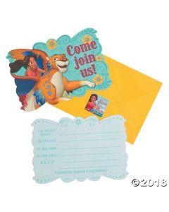 Disneys Elena Postcard Invitations