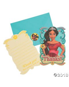 Disneys Elena Thank You Cards
