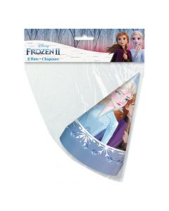 Disney's Frozen II Elsa and Anna Cone Party Hats