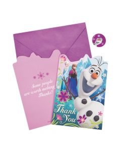 Disney's Frozen Thank You Cards