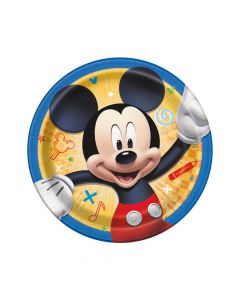 Disney's Mickey Mouse Party Paper Dessert Plates - 8 Ct.