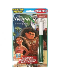 Disney's Moana Invisible Magic Ink and Sticker Set