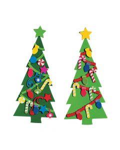 Diy Fabulous Christmas Tree Bookmarks