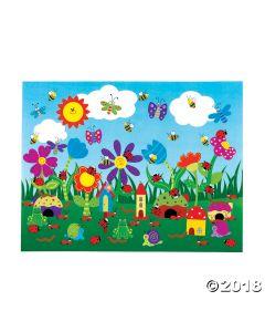Diy Flower Garden Sticker Scenes