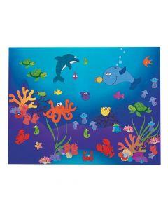 DIY Under the Sea! Sticker Scenes