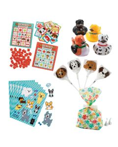 Dog Party Bingo Prize Kit