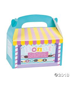 Donut Party Favour Boxes