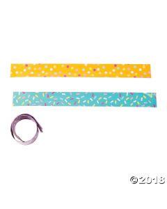 Donut Party Sprinkles Slap Bracelets