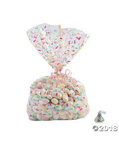 Donut Sprinkles Cellophane Bags