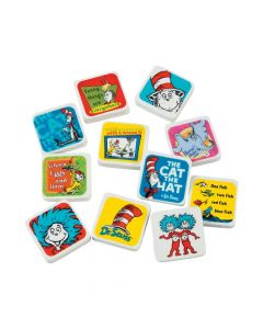 Dr. Seuss Character Erasers