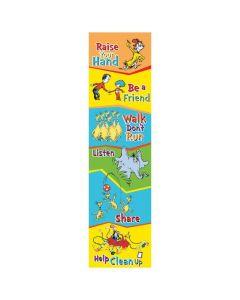 Dr. Seuss Class Rules Vertical Banner