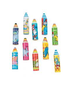 Dr. Seuss Crayon Erasers