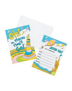 Dr. Seuss™ Oh, the Places They'll Go Invitations